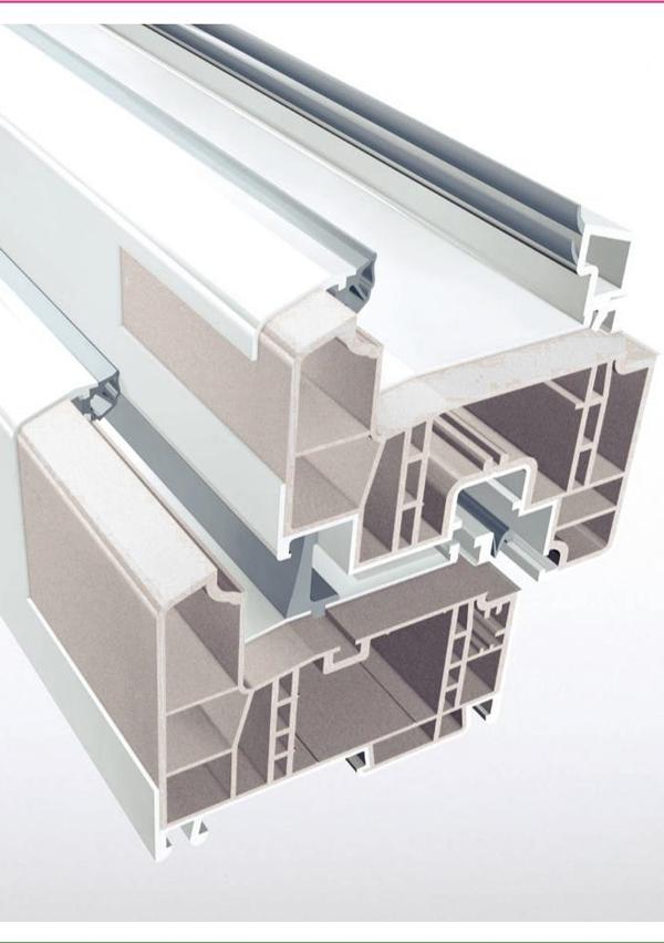 Mbi strukturën baze me fibra te përforcuar prej RAU-FIBRO gjendet sipërfaqja HDF High Definition Finish
